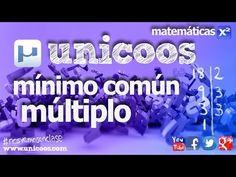 Canal de vídeos matemáticos Multiplos y divisores - MATEMATICAS - YouTube
