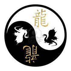 ^= ❤ Year of the Dragon Text Tattoo, Tattoo Signs, Kanji Tattoo, Chakras, Ying Yang, Dragon Quotes, Yin Yang Designs, Cute Couple Tattoos, Feng Shui