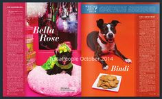 In March 2014 at the Oklahoma Alliance for Animals' Fur Ball, Bella Rose, dog daughter of Pamela Reed wore a ball gown by Orostani Couture. When she was photographed with Carrie Underwood, the country music star joked that she had a dress just like Bella's. Price tag for the ball gown (Bella's, not Carrie's): around $250. Her toenails were painted pink and green to match the dress. Like you didn't know that.