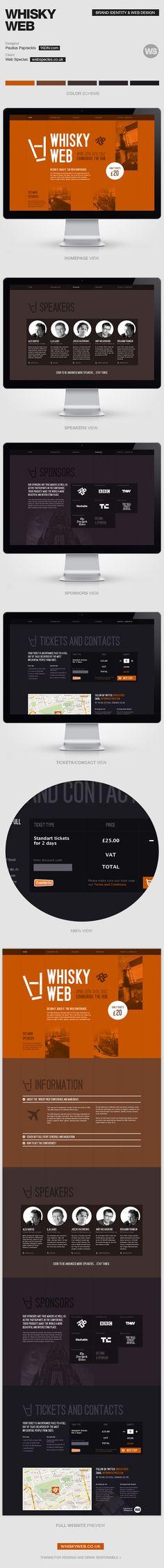 whiskey web | #webdesign #it #web #design #layout #userinterface #website #webdesign < repinned by www.BlickeDeeler.de