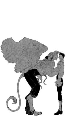 #Yaoi #BL #Madk Fantasy Character Design, Character Design Inspiration, Character Art, Fantasy Creatures, Mythical Creatures, Orianna League Of Legends, Manga Art, Anime Art, Arte Indie