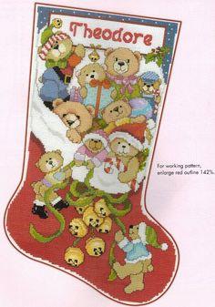 Leisure Arts Stocking Collection 2nd Edition - Donna Kooler - 123Stitch.com