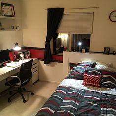 Yumiさんの、ベッド周り,シンプル,高校生の部屋,男の子の部屋,のお部屋写真