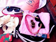 Frat collection, southern tide, nikes, ray-bans and lilly pulitzer