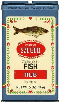 Best szeged fish rub recipe on pinterest for Best fish seasoning