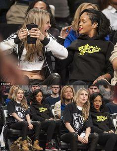 ^_________________^ Rihanna Love, Rihanna Riri, Rihanna Style, Cara Delvingne, Bff Goals, Badass Women, Comic, Actors & Actresses, Celebs