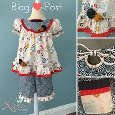 NEW BLOG POST!! I made a new outfit for my granddaughter! I talked about how I made it on my newest blog post. Go check it out & let me know what you think! by Kari Mecca of Kari Me Away