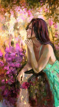 Love this background--Irene Sheri... | Kai Fine Art
