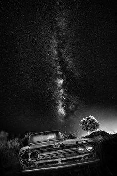 Galaxy in Monochrome by Stergos Skulukas - Photo 176968467 / 500px