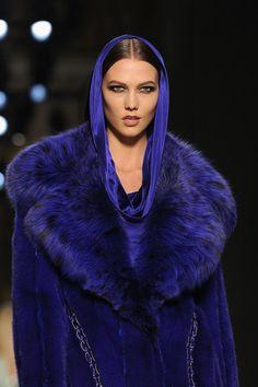 blue haute couture