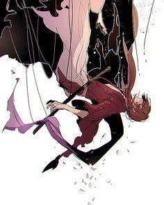 Pixiv Id 3902051, Rurouni Kenshin, Himura Kenshin, Upside Down