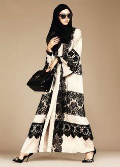 Dolce & Gabbana lança sua primeira coleção para mulheres muçulmanas ~ BLOG DA MALU