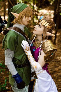 Princess Zelda and Link, from Zelda: Twilight Princess