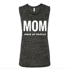 mom made of muscle fit mom workout mom mama bear by cottonjunkie