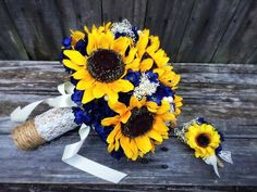 Wedding Ware can make any bouquet! This sunflower bouquet has been ordered for a. Wedding Ware can make any bouquet! This sunflower bouquet has been ordered for a fall wedding! Navy Flowers, Prom Flowers, Wedding Flowers, Navy Rustic Wedding, Yellow Wedding, Our Wedding, Dream Wedding, Boutonniere, Sunflower Bouquets