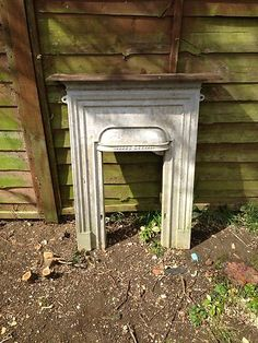Cast Iron Fireplace Surround | eBay