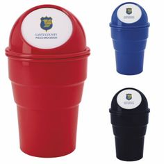 21155 - Mini Auto Trash Can #goodvalue #livebicgraphic #promoproducts Automobile Industry, Car Insurance, Industrial, Mini, Industrial Music