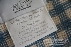Going beyond the monogram, Swell Forever® designs heirloom gifts with unique tag customization & personalization options.