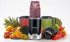Cooks Professional 10 Piece Nutriblend Premium Blender Smoothie Maker Juicer with Accessory Set (Black) Smoothie Makers, Smoothie Blender, Tampon Tax, Xmas Wishes, Food Waste, Free Food, Vitamins, Fruit, Cooking