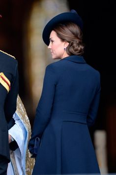 Kate Middleton - The Duchess Of Cambridge Joins Royal Family At Afghanistan War Commemoration - March 13, 2015