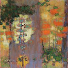 Rick Stevens Abstract Nature, Abstract Art, Abstract Landscape, Abstract Trees, Paintings I Love, Tree Paintings, Pastel Paintings, Abstract Paintings, Rick Stevens