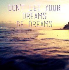 """Don't let your dreams be dreams"" --Jack Johnson Make them come true http://www.amazon.com/The-Reverse-Commute-ebook/dp/B009V544VQ/ref=tmm_kin_title_0"