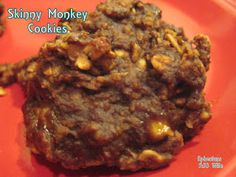 Skinny Monkey Cookies & other healthy dessert recipes