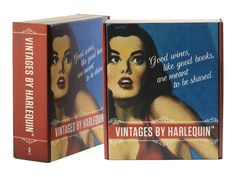Valentine's Day gift idea! Pair a Vintages by Harlequin box set with a set of new books, then wait for the hugs and kisses to follow.