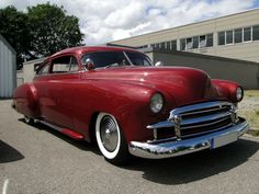 CHEVROLET Fleetline 2door Sedan Custom 1950