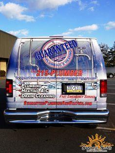 Ford E-Series Cargo van wraps