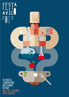 festavico 2013 by Stefano Marra, via Behance