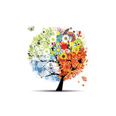 Four seasons - spring, summer, autumn, winter. Art tree Canvas Print ✓ Easy Installation ✓ 365 Days to Return ✓ Browse other patterns from this collection! Tattoo L, Tattoo Tree, Rhinestone Art, Tree Canvas, Free Art Prints, Trendy Tree, Winter Art, Canvas Pictures, Autumn Trees