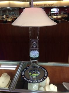 Custom centerpiece to showcase the introduction of Todd Heaps Ring Of Honor coin introduction