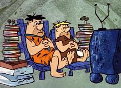 Fred Flintstone & Barney Rubble (Alan Reed & Mel Blanc) The Flintstones… Classic Cartoon Characters, Cartoon Tv, Classic Cartoons, Cartoon Crazy, Os Flinstones, Desenhos Hanna Barbera, Yabba Dabba Doo, Fred Flintstone, Flintstone Cartoon
