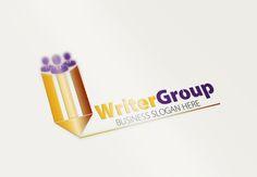 Writer Group Logo by fastudiomedia on Creative Market