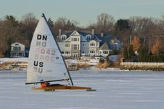 ice boating on the navesink