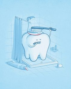 Funny illustrations by Nacho Diaz