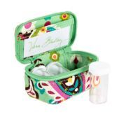 Keep all your toiletries organized with this Vera Bradley travel case.  #vbpinparty
