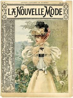 1896. Walking dress, June...................http://www.pinterest.com/brickertkin/art-illustration-ads-covers/