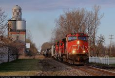 RailPictures.Net Photo: IC 2724 Canadian National Railway GE C44-9W (Dash 9-44CW) at New Haven, Michigan by Steve Davey