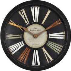 """FirsTime 12.75"""" Arco Wall Clock"""