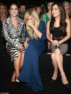 Ellie, Cheryl and Samantha Barks