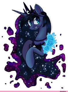 my little pony, My Little Pony, fandom, Princess Luna, the moon princess, royal, mlp art