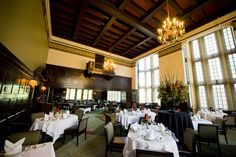 University Club of Portland. Main Dining Room. #universityclubofportland #uclubpdx