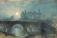 Джозеф Мэллорд Уильям Тёрнер. Замок Алник, Нортумберленд. 1829