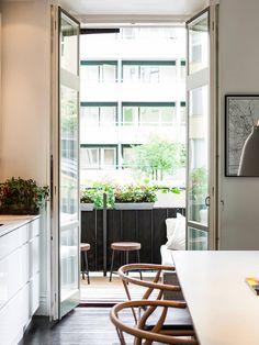 Sno stilen – svart och vitt med färgglada detaljer - Metro Mode Home