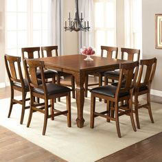 Parker Counter Height Dining Set (7 pc.) - Sam's Club