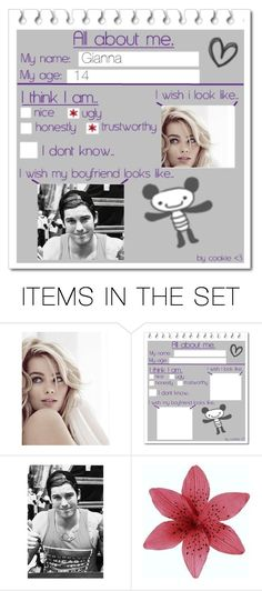 """""""All About Me"""" by giacozz ❤ liked on Polyvore featuring art"""