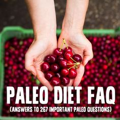 Paleo Diet FAQ- answers to 267 important Paleo questions, including an A-Z guide on what you can and cannot eat on the Paleo Diet.I am glad this was posted/pinned! Paleo Vegan, Paleo Life, Healthy Life, Paleo Grubs, Paleo Blog, Paleo On The Go, Paleo Whole 30, How To Eat Paleo, Real Food Recipes