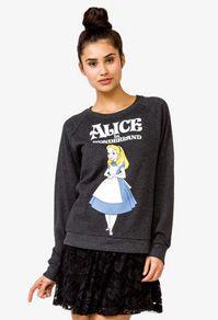 Forever 21 Alice in Wonderland sweatshirt...need this!